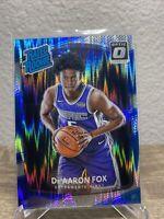 2017-18 Donruss Optic Shock De'Aaron Fox Rookie RC #196 Kings