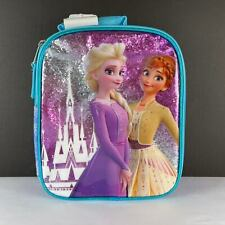 Disney Frozen 2 Kid Friendly BPA Free Zipper Handle Lunch Tote Bag Age 3+