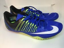 Nike Zoom Celar 5 Track Sprint Spikes Blue  629226-413 Mens Size 11