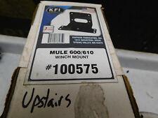 kawasaki mule 600 610 winch mount  mounting bracket plate 0 607 08 09 2010 2011