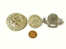 More details for 3 x vintage st. john ambulance brigade / association cap badges #sj19