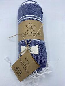 Zaza Towels Turkish Towel% 100 Cotton Bath Towel 70x35 Lightweight Beach Yoga Pi