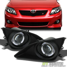 2009-2010 Toyota Corolla LED Halo Projector Bumper Fog Lights+Switch Left+Right