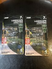 ( 2 ) Feit Electric Landscape Lighting Bulb, 7W Wedge Base,12V Fixtures, LV526