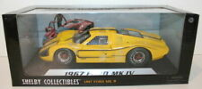Shelby Collectibles 1/18 Scale Diecast  - 1967 Ford GT40 MKIV - Yellow