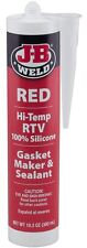 JB Weld 31914 Red High Temperature RTV Silicone Gasket Maker and Sealant 10.3 oz