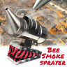 Bee Hive Smoker Fumes Smoke Sprayer Beekeeping Equipment Tool Stainless Steel !