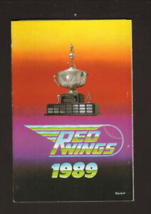 Rochester Red Wings--1989 Pocket Schedule--First Federal--Orioles Affiliate