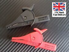 FLUKE SureGrip Alligator Clips (fit Fluke AC285) Use for TL224 or TL222 UT-C04A