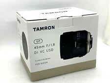 New Tamron SP 45mm f/1.8 Di VC USD Lens - NIKON [F013]
