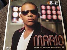 Mario Live at the Key Club (DVD) Coffey Live NEW