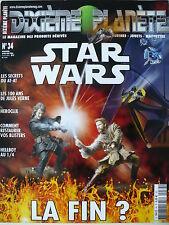 """Magazine (très bel état) - Dixième planète 34 (couverture """"Star Wars"""")"""