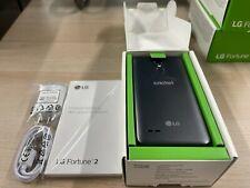 LG Fortune 2 16GB (Cricket Wireless) Smartphone - Titan Black - Used Condition