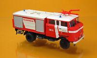 MCZ Espewe 03 127 IFA W 50 LA TLF 16 GMK Feuerwehr Erfurt leuchtrot Scale 1 87