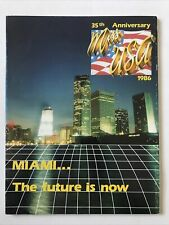 Miss Usa 1986 Official Program Miami Halle Berry
