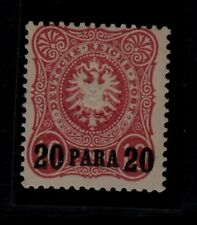German Offices in Turkey Sc 2 LH issue of 1884 - overprint on 10pf - Signed