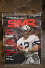 NEW SMR Sports Market Report PSA/DNA Guide Magazine ROGER STAUBACH SEPT 2019