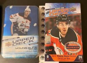 3 DAYS! 2020-21 Series 1 Hockey HOBBY Box + Bonus 20-21 Tin BREAK- SELECT TEAM