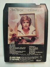 Anne Murray Christmas Wishes Capitol 1981 Eight 8 Track Tape et15