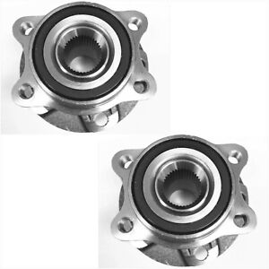 Front Wheel Hub Bearing Assembly For 2006-2011 Audi A6 Quattro V6 PAIR 584284227