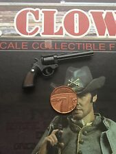 BBK Cowboy Jonah Hex Josh Brolin Revolver Pistol loose 1/6th scale