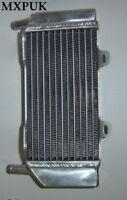 CRF250 2008 LEFT SIDE RADIATOR MXPUK Performance Rad CRF 250R 08  (015B)