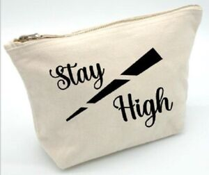stay high , gift, toiletries, cosmetic, pouch, Christmas, make-up, ganja, weed