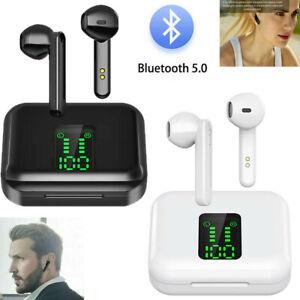 TWS Wireless Bluetooth Headphones Earphones Earbuds For iPhone Samsung Huawei