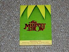 The Muppet Show Season 1 Special Edition 4-Disc DVD 2005 Box Set Brand New