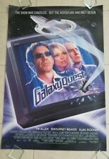 Galaxy Quest movie poster - International 1 Sheet - Alan Rickman