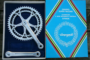 Vintage 1982 NOS NEW NIB Campagnolo Super Record cranks crankset chainset 170mm