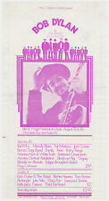 BOB DYLAN, THE WHO, MOODY BLUES others 1969 Original Concert Handbill / Flyer