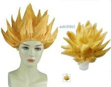 Gold yellow Cosplay Costume Wig Dragon Ball Z Goku Japan Anime Wig+wigs CAPAE223