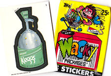 WACKY PACKAGES 1991 SINGLES ( PICK ANY 3 ) GREAT PRICE