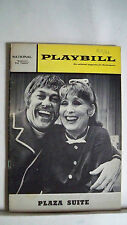 PLAZA SUITE Playbill BETTY GARRETT Autographed TOUR Washington, DC 1969