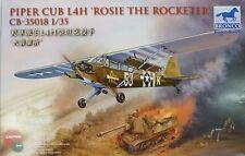Bronco 1/35 Piper Cub L4H Rosie The Rocketer Plane NIB