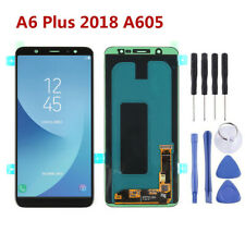 Für Samsung Galaxy A6 Plus 2018 A605 LCD Display Touchscreen Digitizer Schwarz F