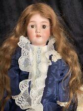 "Antique  Heinrich Handwerck 24"" Simon Halbig German Doll"