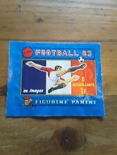 pochette pleine d'origine panini football championnat de France 83 🇨🇵 .