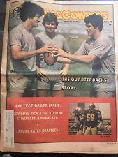 """ NFL Dallas Cowboys Official Weekly Magazine May, 1980; Vol. 6, No. 4"