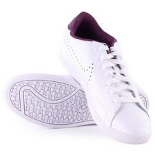 NIKE Racquette Leather 454412-115  White Size 12