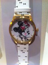 Disney Montre Minnie Disneyland Paris Exclusive Watch Minnie Mouse Parisienne