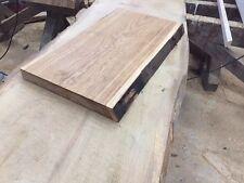 Baumscheibe, Waschtisch, Tischplatte, unbesäumt/gerade, Eiche, Baumkante 60cm 30