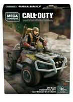 Mega Construx Call of Duty ATV RAID Black Ops 4 - GCN95 - 116 Pieces New!