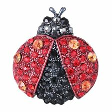 Hot Women Cool Insect Paved Rhinestone Crystal Brooch Gift Club Charm Jewelry
