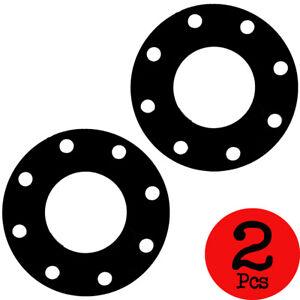 Lot of 2 pcs. Nitrile Rubber Flange Gasket Size 8 Inch #150 Bolt pattern