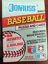 1991 Donruss Series 2 Baseball Card Packs