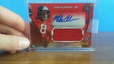 2013 Topps Finest Mike Glennon Red Refractor Auto Jersey RC