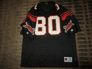 Peter Warrick #80 Cincinnati Bengals NFL Champion Jersey 44 LG