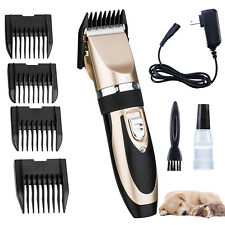 Pet Dog Electric Animal Hair Trimmer Shaver Razor Grooming Quiet Clipper Tool